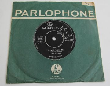 "Beatles PLEASE PLEASE ME UK 7"" 1ST  EX AUDIO"